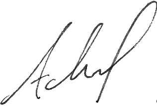 adonals signature bw first only